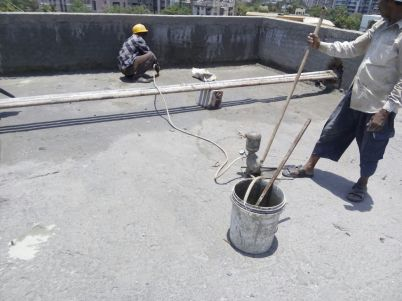 Cement-Grouting